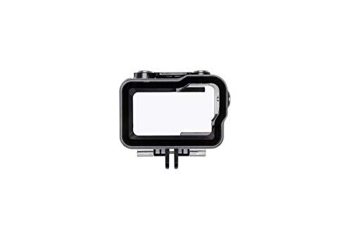 DJI Osmo Action Part12 Wasserdichter Koffer (Wasserdichtes und tauchfähiges Gehäuse, bis zu 60 Meter, mit Ableitungsgitter) schwarz/transparent