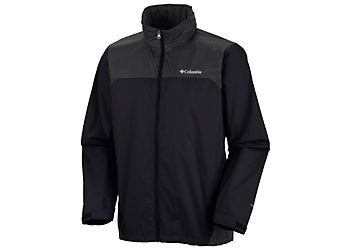 Columbia Men's Glennaker Lake Rain Jacket, 100% Nylon, Multiple Sizes and Colors