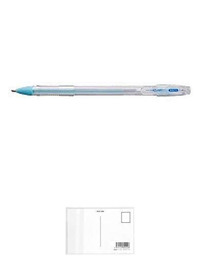 トンボ鉛筆 液体のり アクアピット 強力ペンタイプ PT-WP 【まとめ買い 20 個 】 + 画材屋ドットコム ポストカードA