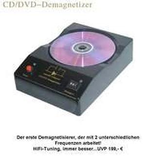 HiFi Tuning – Ultimate Disc demagnetizer – Desmagnetizador para CD/DVD/SACD.: Amazon.es: Electrónica