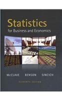 Statistics for Business and Economics plus MyMathLab/MyStatLab Student Access Code Card (11th Edition)