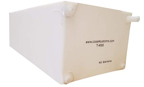 Class A Customs | T-4000-SP | One (1) Spouted 40 Gallon RV Fresh and Gray Water Holding Tank RV Concession