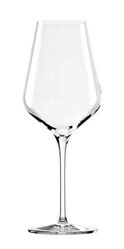Verres à vin rouge Quatrophil de Stölzle Lausitz, 568 ml, aspect soufflé à la bouche, résistants au lave-vaisselle