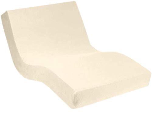 Dormabell Premium Spannbetttuch, extra hoch (für Matratzen 25-35cm) speziell für Boxspring- oder Wasserbett entwickelt, elastisch | Blickdicht | bügelfrei | langlebig (leinen, 180 x 200 cm)