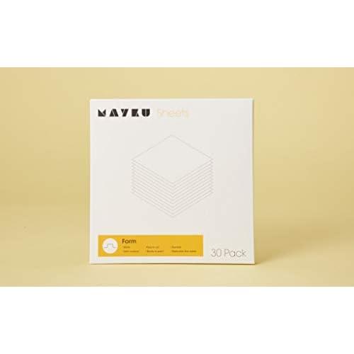 Mayku Form Sheets – confezione da 30 fogli da utilizzare con la tua FormBox: una formatrice sottovuoto da tavolo che da vita alle tue idee.