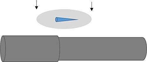 Curtain Rod Joint Ramps (10 Counts)   Prevent Curtain Rings from Catching on Telescopic Rod Joints