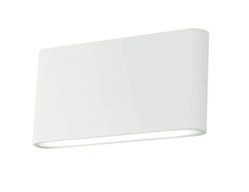 Fan Europe w-gamma/10W Applique mit LED Einfache Modell, 10W, Weiß, 90x 17