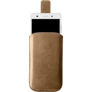 Cellularline Pouch Schutzhülle für Handy, 16 cm (6,3 Zoll), Braun