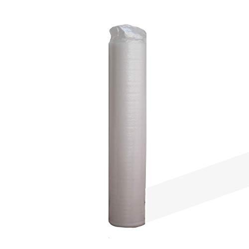 Base Aislante FOAM7 - BASIC WHITE 3.0 de 3mm. 20m2. Para Tarima y Parquet ; Regula Desniveles. Incorpora capa antihumedad. 18kg/m3 PE Densidad. Manta Multiuso. 100% Ecológico. Super Ventas