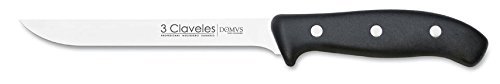 3Claveles Domvs - Cuchillo para deshuesar, 15 cm, 6 pulgadas