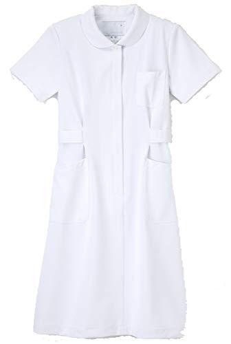 (ナガイレーベン) NAGAILEBEN 女子 ワンピース 半袖 ナースウェア 白衣 HO-1917 ELサイズ ホワイト