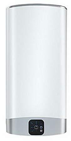 Fleck Grupo Ariston Termo Eléctrico 100 litros | Calentador de Agua Vertical y Horizontal, Multiposición, Serie Duo 5 - Display LCD, Resistencia Blindada Vitrificada Antical de Larga Duracion