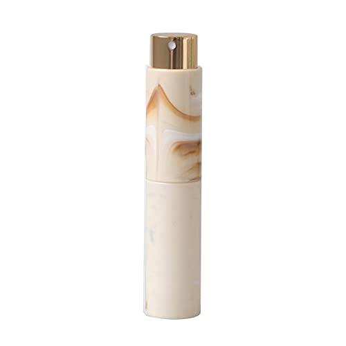 Ysimee Atomizador de Perfume Recargables 10 ml, Botellas de Spray de 2 Piezas, Carcasa de Resina + Revestimiento de Vidrio, para aceites Esenciales, Perfume