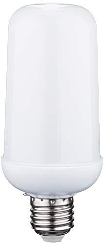 Tecktronics - Lampada LED a fiamma con 3 diversi effetti luminosi, colore: Bianco
