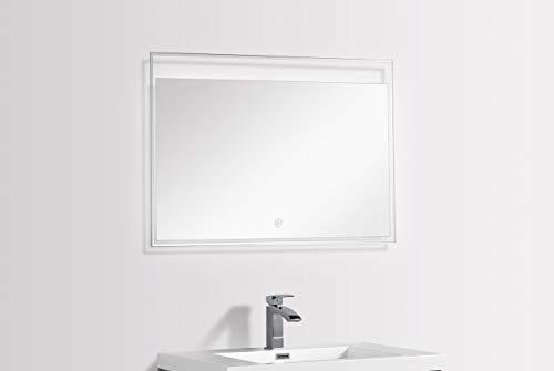LED badkamerspiegel FRONTERA 100 x 60 cm