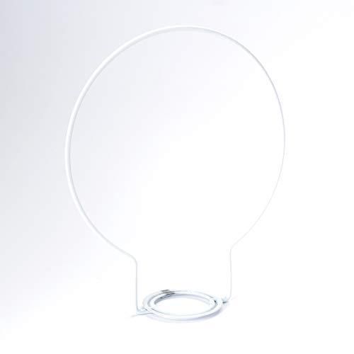 Zugbügel für Zugpendel Fassung E27 Leuchtenpendel Zuglampe Bügel Pendelleuchte (weiß)