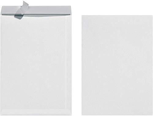 Herlitz 10837599 Versandtasche B4, mit Haftklebung, 25 Stück eingeschweißt weiß