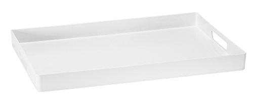 Platex 90115235402 Vestah Plateau Angle Mélamine 52x35 cm Lumière