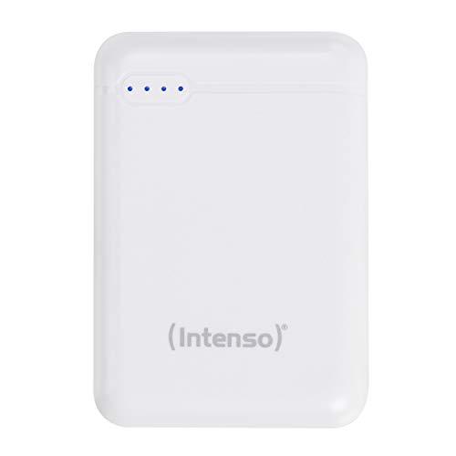 Intenso Powerbank XS 10000, externes Ladegerät (10000mAh, geeignet für Smartphone/Tablet PC/MP3 Player/Digitalkamera) weiß
