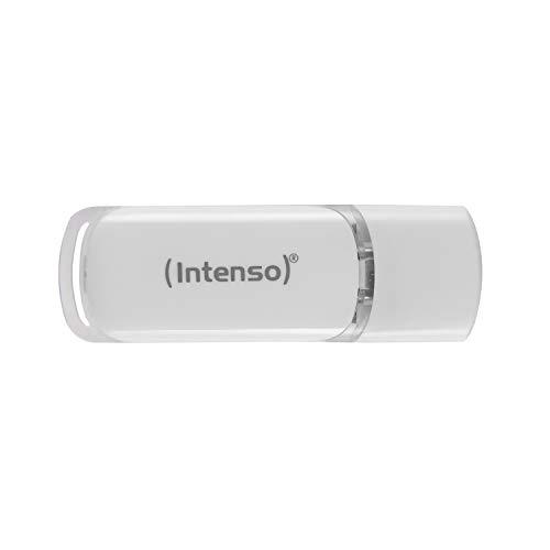 Intenso Flash Line 32 GB - Type C USB-Stick - Super Speed USB 3.1, weiß