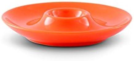 Preisvergleich für Friesland Porzellan Eierbecher/Eierteller 13cm Happymix ?Orange