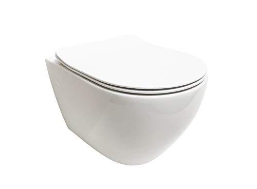 ADOB ADOB, spülrandlose wandhängende Keramik Hänge Bild