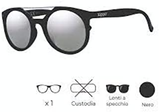 ef7e6f1e57 Zippo UV400 - Gafas de Sol Unisex, Color Negro, Talla única