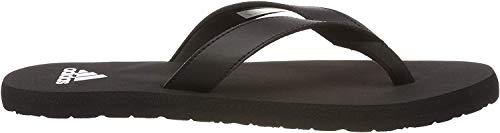 adidas Herren Eezay Flip Flop Badeschuhe Schwarz (Footwear White/Core Black), 39 EU
