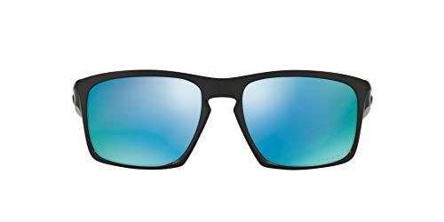Oakley Sliver 926240 Gafas de sol, Polished Black, 57 para Hombre