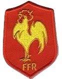 MAREL Patch Nationale de Rugby XV de France brodé cm 5,4x 7,6Réplique