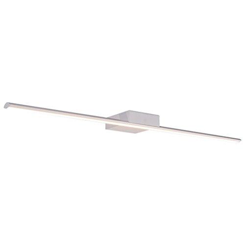 Lámpara LED Espejo Luces, Impermeable antiniebla Baño Baño Iluminación Lámpara Maquillaje Moderna Minimalista Luces de baño (Color : A)