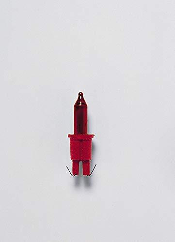 Ersatz-Leuchtmittel - für 20er Color Line Lichterkette - 12V - 1,08W - Rot - 5 Stück