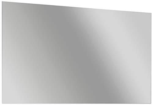 FACKELMANN Spiegel/Wandspiegelelement mit Befestigung/Maße (B x H x T): ca. 120 x 68 x 2 cm/hochwertiger, moderner Spiegel/quer verwendbarer Badezimmerspiegel/Breite 120 cm