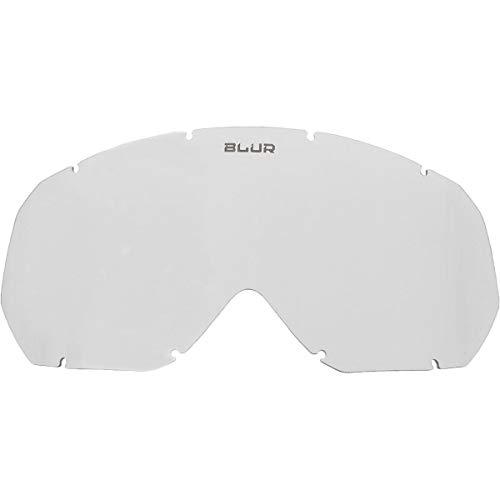 Blur Unisex-Erwachsene B-10 Youth Ersatzgläser (transparent, Einheitsgröße)