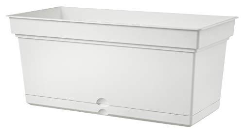 Teraplast Aqua 78cm Fioriera, Bianco, 78 cm
