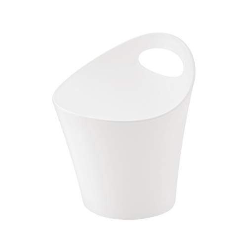 Koziol 2839619 - Pottichelli - Cache-Pot, Plastique, Blanc, 13 x 11.8 x 7 cm