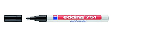 Edding 751 Paint Marker Black (10)