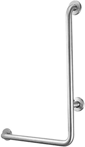 Handrails Railings Free shipping trust New Stainless Steel L-Type Old Bathroom Toilet Ma