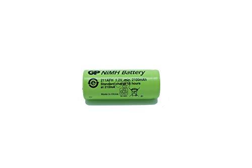 Batteria di ricambio GP Batteries di WG® 2100mAh 1.2V 42x17mm compatibile con spazzolino Oral B Tipo 3764 Pro 4000 5000 5550 6000 7000 Trizone 6000 6500 7000 Black White 6500 7000 DeepSweep 5000 5550
