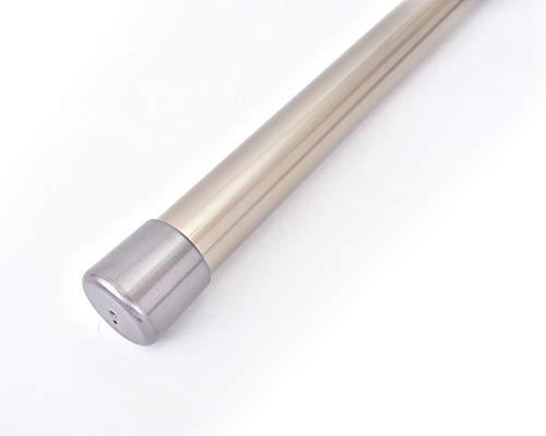 ものほし竿 4.5m 高剛性 組立て式 1本竿 洗濯竿 物干しざお 直径3.2センチ 本体カラー:シャンパンゴールド (キャップカラー:シルバー)