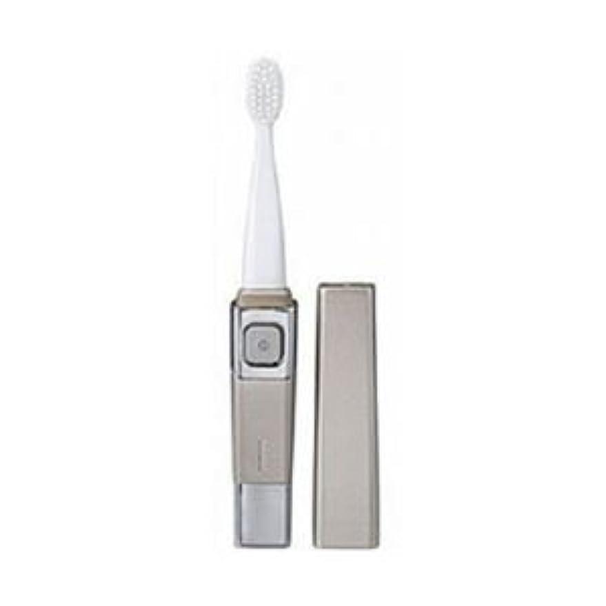 オリエント頻繁に肺炎(まとめ)ツインバード 音波振動歯ブラシ シャンパンゴールド BD-2755G【×3セット】