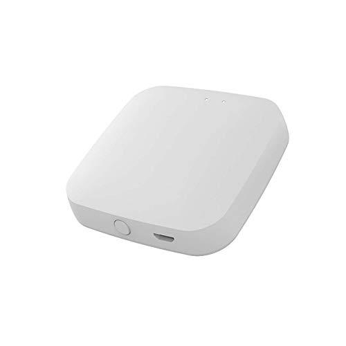 ZigBee Gateway Host, TUYA APP Wireless Hub,Smart Hub Home Bridge Router,Centro de control de dispositivos inteligentes automatización del hogar inteligente