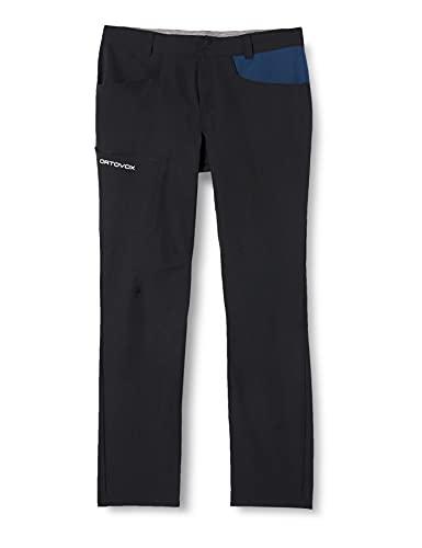 Ortovox Pelmo Pants - Pantaloni da Uomo, Uomo, Pantaloni, 62256, Corvonero, M
