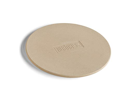 Weber® pizzasteen rond Ø36cm, voor houtskoolgrills, gasgrills, elektrische grills en oven, 17835