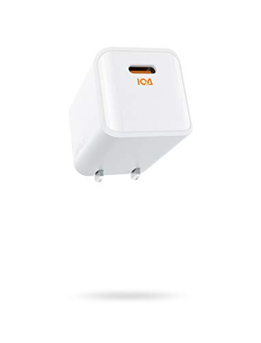 USB-C Charger 20W, JSAUX Mini iPhone 12 Wall Adapter PD 3.0 Fast Charger with Foldable Plug, Compitible with iPhone 12 Mini/12/12 Pro/12 Pro Max/11/11 Pro Max/XR/XS/X, iPad Pro, AirPods Pro, Pixel 4/3
