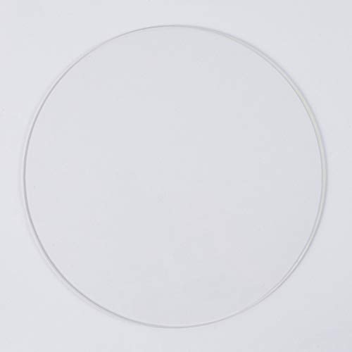 Dia 220 mm, 3mm thick Round Borosilicate Glass Plate/Bed, for Delta/Kossel 3D Printer Circle Build Surface