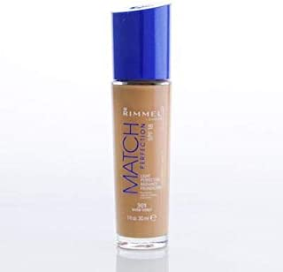 Rimmel Match Perfection Foundation 301 harm honey