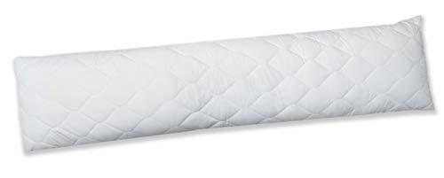 ZOLLNER Almohada para Dormir de Lado, 40x145 cm, Disponible en 40x200 cm