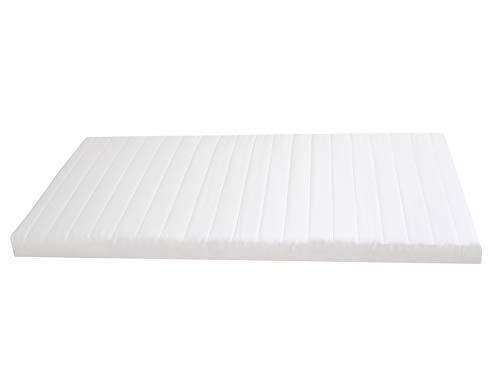 GMD Living Topper für Boxspringbett oder als Matratzenauflage für Doppelbetten, 7-Zonen Wellenschnitt, geprüfte Qualität Made in Germany, Größe:90 x 200 cm