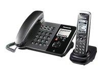 PANASONIC KX-TGP550T01 SIP DECT - Telefono con cornetta cordless, display LCD, vivavoce e base di ricarica